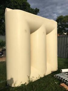 2500L slimline rainwater tank