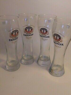 4 Lot Of Beer Steins Erdinger Wiesbrau