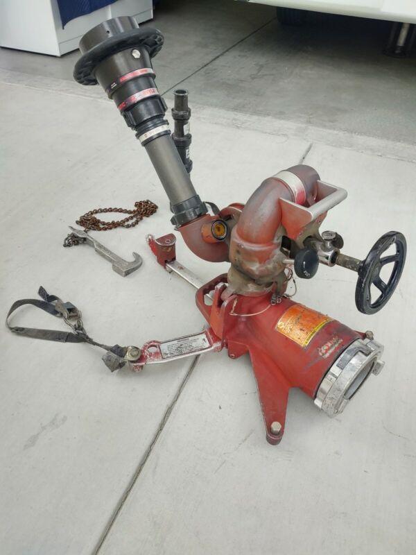 Akron Brass Apollo Plus 3414/3416/3431 Deck Gun,base ,fog nozzle & straight tips