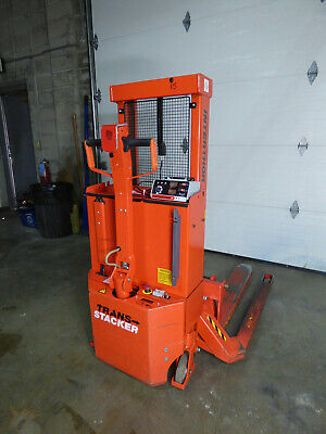 Interthor Trans Stacker Walkie Straddle Lift Truck 326 Hours