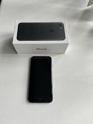 Apple iPhone 7 - 32GB - Black (Unlocked) A1778 (GSM) Good Condition - Used
