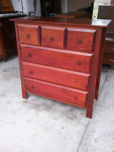Beautiful  mahogany decorative chest of draws $145 Cessnock Cessnock Area Preview