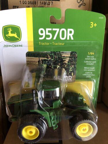 ERTL 1:64 John Deere 9570R 4WD Tractor   w/ Triples