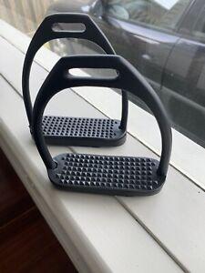 Black stirrup irons