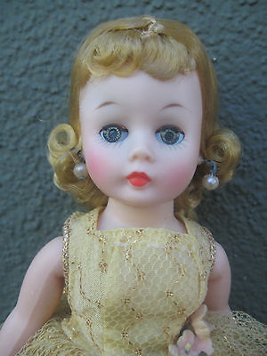 Madame Alexander 1950's Cissette All Original Near Mint Gorgeous Doll With Shoes