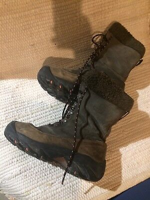 buy online e234f 42e83 Keen Winter Hiking boots Womens size 7.5, 1018B17 leather brown