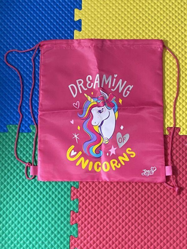 Jojo Siwa Unicorn drawstring bag