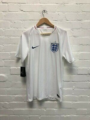 Nike England Football Men's 2018 Home Shirt - Large - White - New