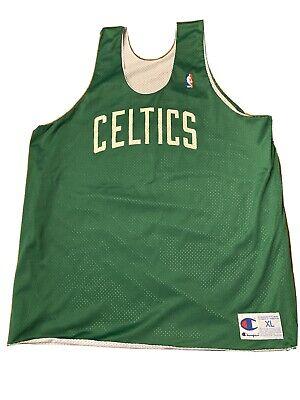 BOSTON CELTICS REVERSIBLE PRACTICE VINTAGE 90s CHAMPION NBA BASKETBALL JERSEY