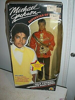 Thriller Outfit Superstar Of The 80's Collectible Doll (H) (Michael Jackson-thriller-outfit)