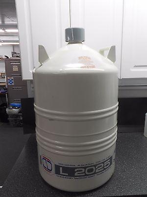 Cryo Diffusion L-2025 25l Aluminum Dewar Liquid Nitrogen Transportstorage Tank