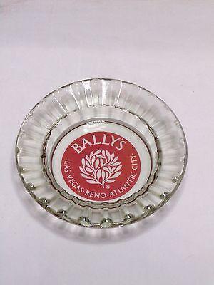 Vintage Bally's Casino Las Vegas Reno Atlantic City Glass Ashtray