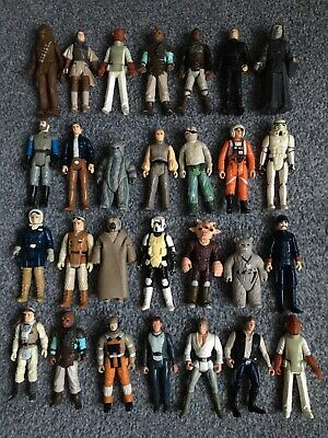 Vintage Star Wars Figures Job Lot X28 (No6)..