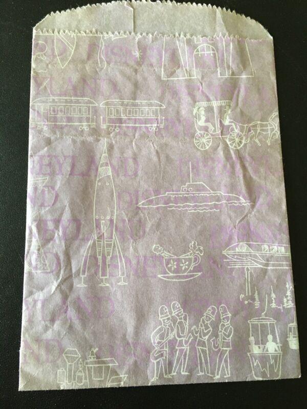 1960s Disneyland Paper Gift Bag Disney