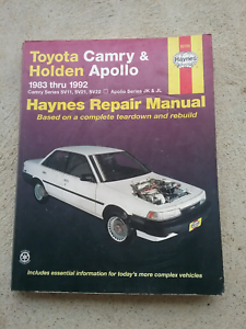 Toyota camry holden apollo gumtree australia free local toyota camry holden apollo 1983 thru 1992 repair manual fandeluxe Gallery