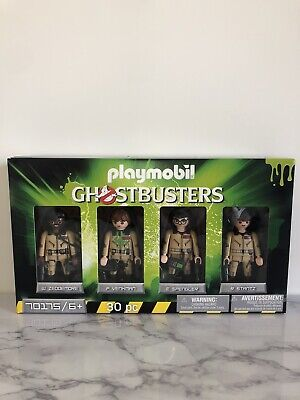 Playmobil Ghostbusters Collectible Figures 4pc