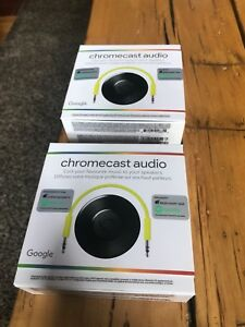 Chrome cast audio new in box. $20 each