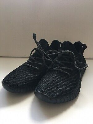 ADIDAS YEEZY Boost 350 Black Womens Trainers Size UK 5