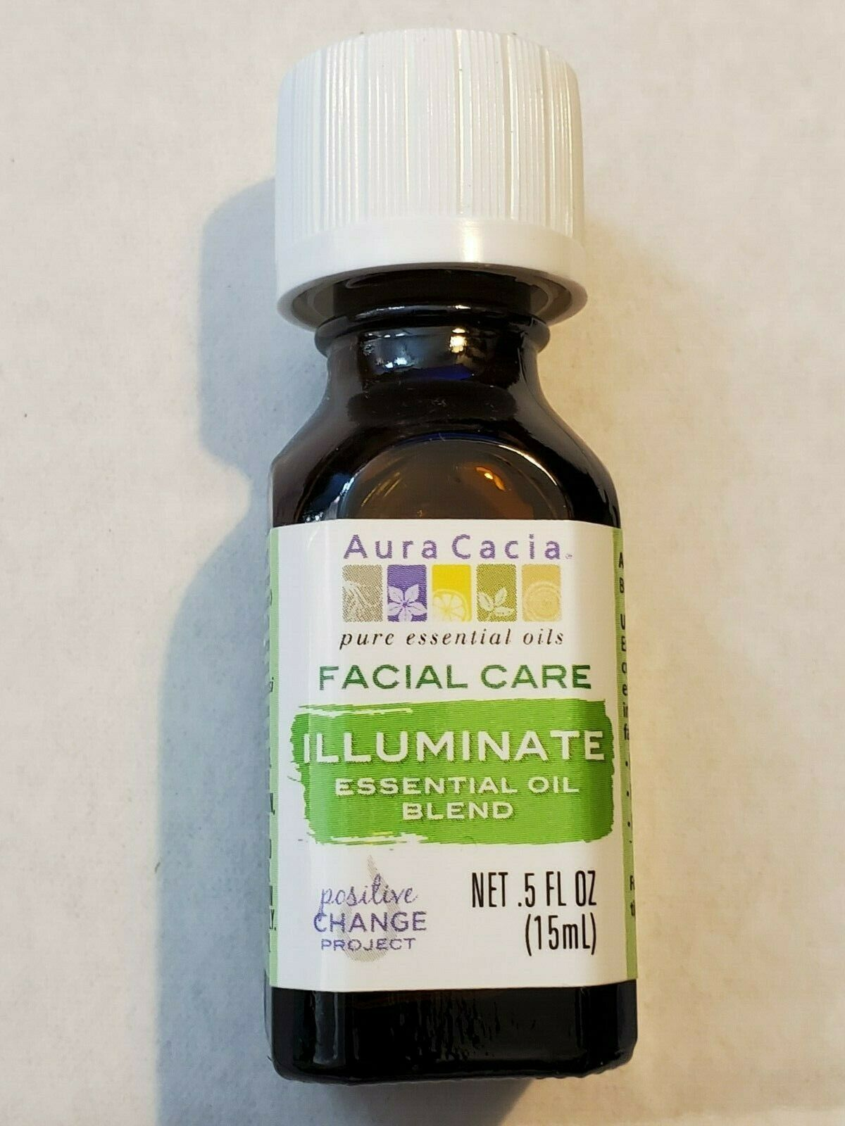 Facial Care Illuminate Essential Oil Blend Aura Cacia 0.5 fl