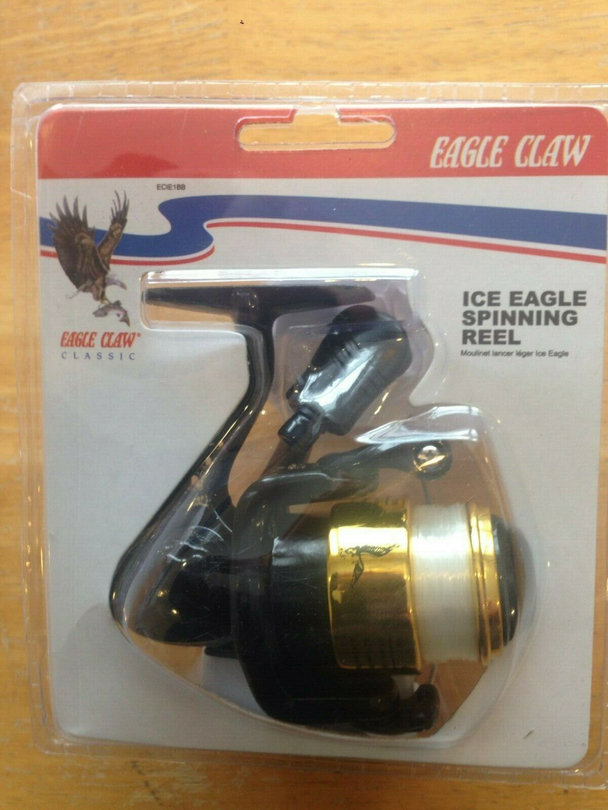 EAGLE CLAW ECIE1BB ICE EAGLE SPINNING REEL