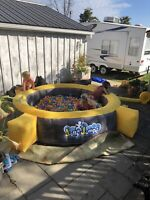Ball pit and bouncy castle rental and more