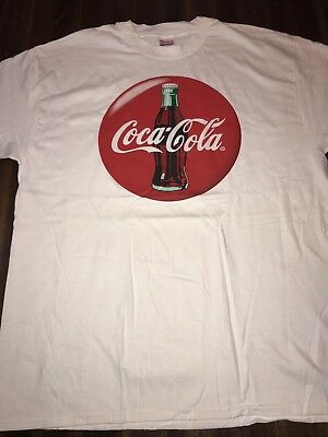 coca cola t shirt xl