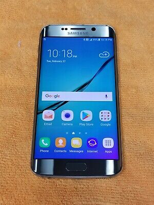 Samsung Galaxy S6 Edge 32GB Gold SM-G925A (AT&T) Great Phone Discounted! KW312