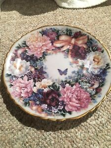 Bradley exchange circle of love collector plate
