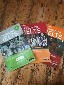 IELTS Preparation Books - Bundle of 3 for $75