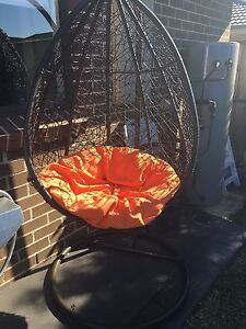 Wicker egg chair Middleton Grange Liverpool Area Preview