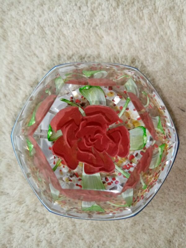 Caithness Glass Chocolate Surprise Paperweight