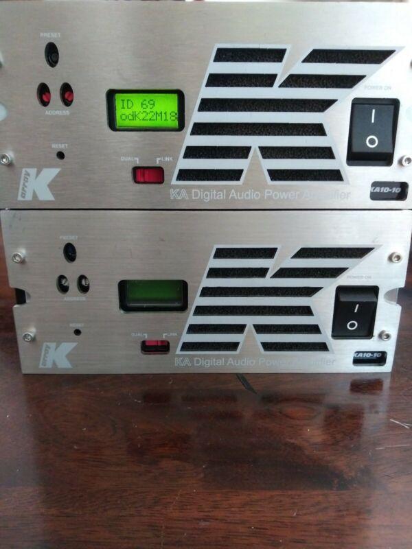 K-Array KA10-10 4-Channel Digital Power Amplifier