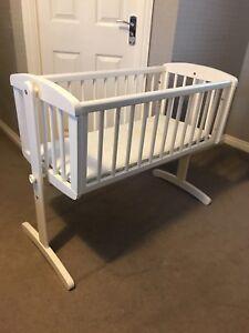 Mothercare Rocking Crib with mattress