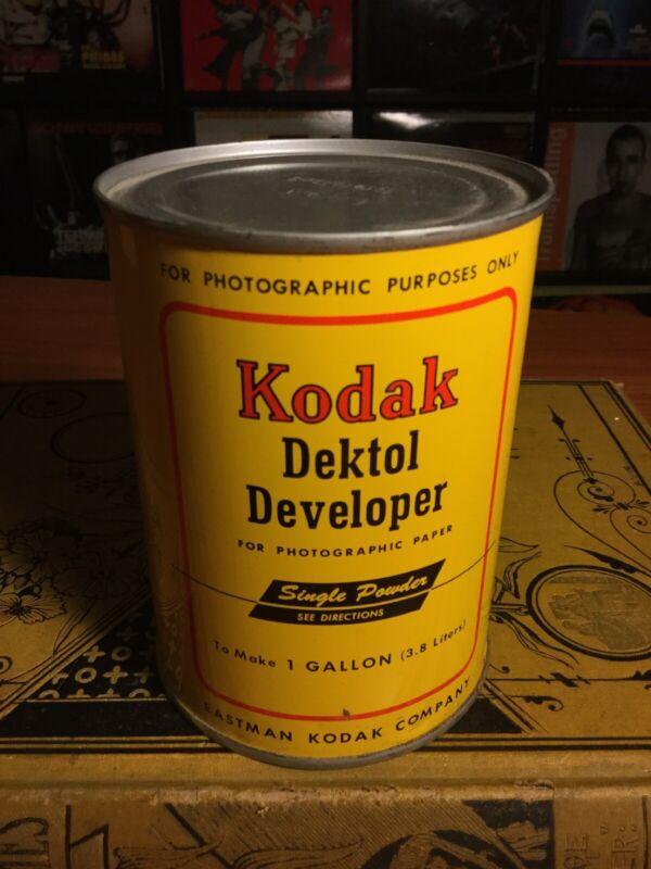 Vintage New Old Stock KODAK DEVELOPER Single Powder - Yeilds 1 Gallon