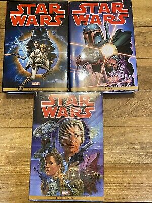 Star Wars Marvel Omnibus, The Original Marvel Years, Volume 1, 2 And 3 HC