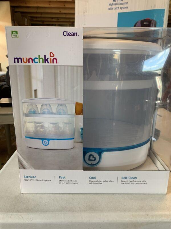 Munchkin Clean Electric Sterilizer - White NEW SHELF PULL