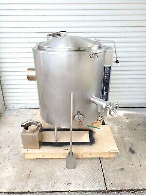 2018 Groen Gas 60 Gallon Steam Jacketed Soup Sauce Kettle Ah1e-60
