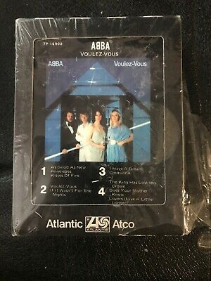 ABBA ‎Voulez-Vous 8 Track Tape 1979 Atlantic New Other