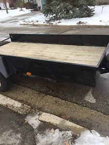 5x12 trailer with 3500lb axle