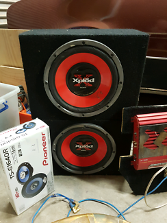 Subs, amps and speakers