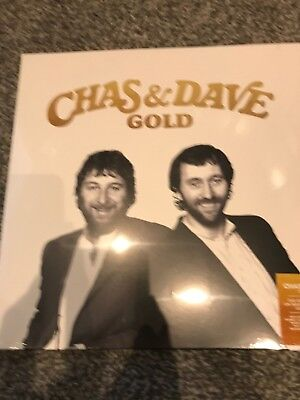Chas and Dave 'Gold' 'Greatest Hits' - Gold Vinyl Lp - New and Sealed
