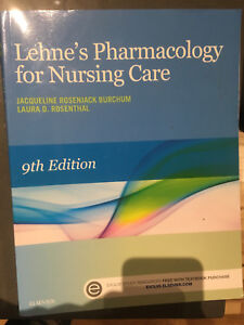 Lehne's Pharmacology for Nursing Care 9th edition