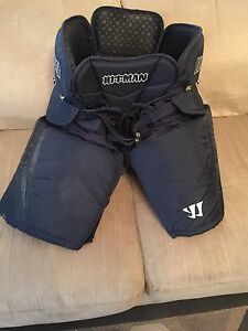Like New Navy blue WARRIOR Hitman hockey pants
