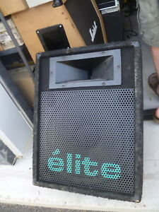 Yorkville E'lite 401  monitor/wedge speaker