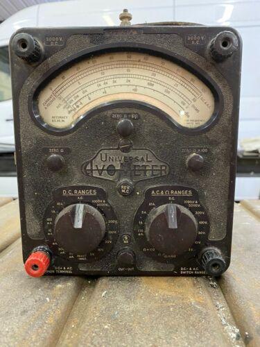 Vintage Universal AVO AvometerMMultimeter