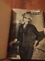 ROTOSEI RIVISTA ANNO 1957 ANNATA COMPLETA MODA. In vendita su 504d15923e1