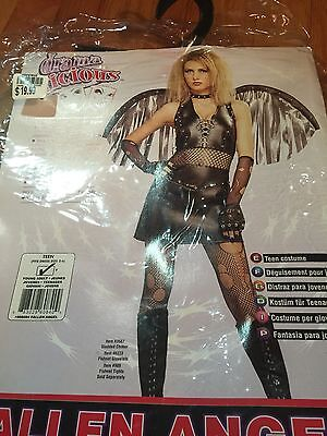 FALLEN ANGEL Teen COSTUME (DRESS SZ 2-6) NIP Rubies Dramalicious