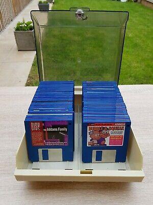 Commodore Amiga Box Of Cover Disc Floppy Discs Amiga 500 600 1200