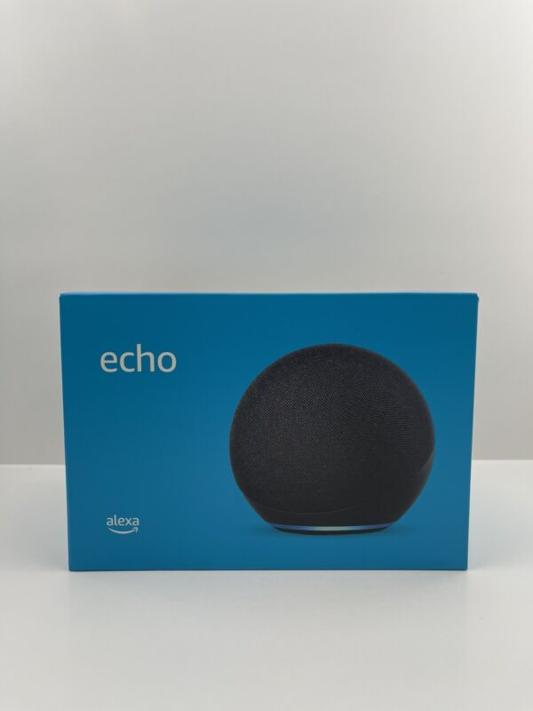 All-new Echo (4th Gen)   With Premium Sound, Smart Home Hub, and Alexa Charcoal