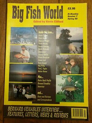 Big Fish World No.7 Specialist Angling Magazine